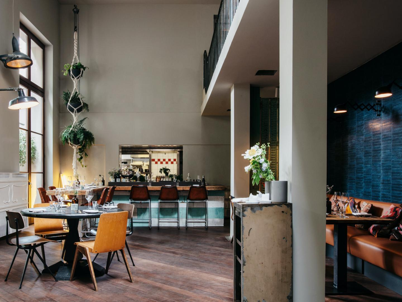 Wintergarten menu literaturhaus cafe im CAFE IM